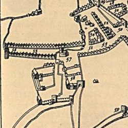 Speed's Map of Dublin, 1610 (detail)
